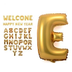 16寸鋁膜數字/英文字母氣球 百日宴 生日會