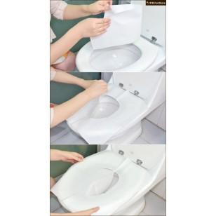 一次性用完即棄馬桶廁板紙