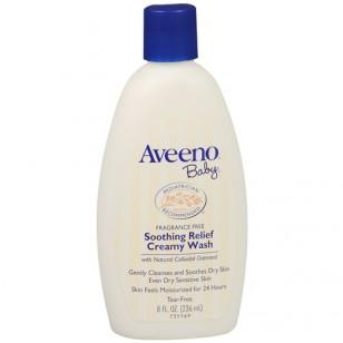 Aveeno Baby Creamy Wash - 8oz