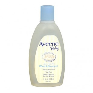 Aveeno Baby Wash & Shampoo -12oz