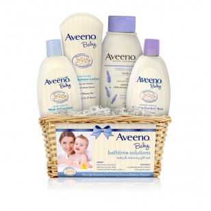 aveeno baby & mommy gift set