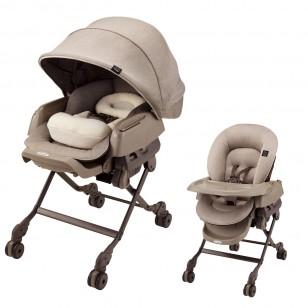 combi bedi嬰兒餐椅床
