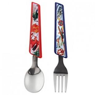 Disney spoon and folk set