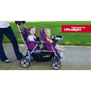 Joovy Caboose™ Too Ultralight 輕巧型雙座位車